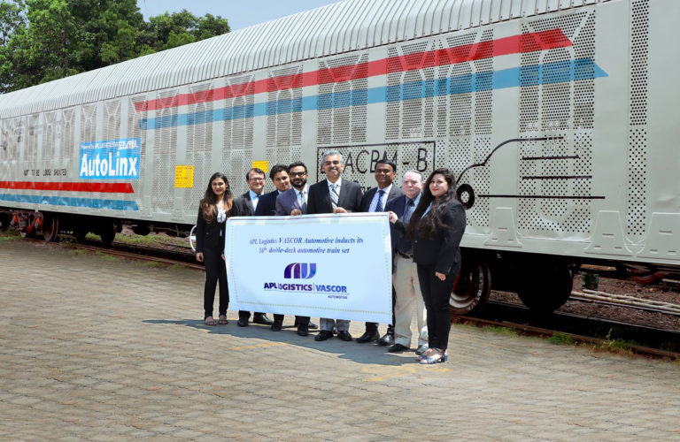 APL Logistics VASCOR Automotive Expands Rail Wagon Fleet with Delivery of Sixteenth Rake